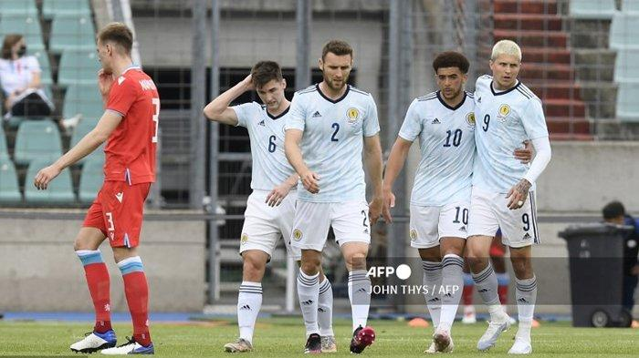 DAFTAR Pemain Skuad Skotlandia di Grup D Euro 2020