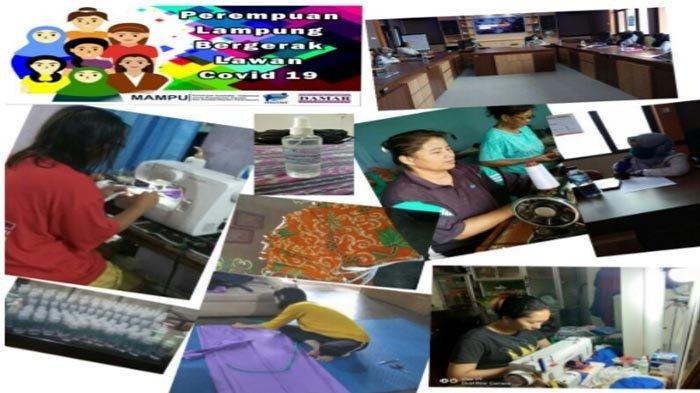 Damar Dorong Kartini Lampung Cegah Persebaran Virus Corona