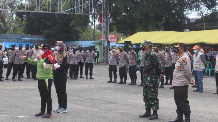 Dandim 0410 Hadiri Apel Besar Bersama Forkopimda Kota Bandar Lampung di Saburai