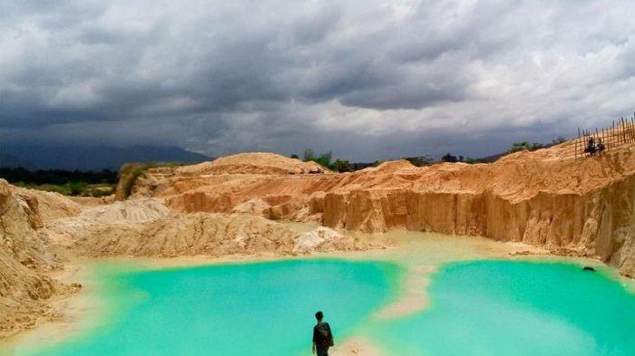 Keindahan Danau Biru Lampung Tengah Jadi Buruan Para Traveller