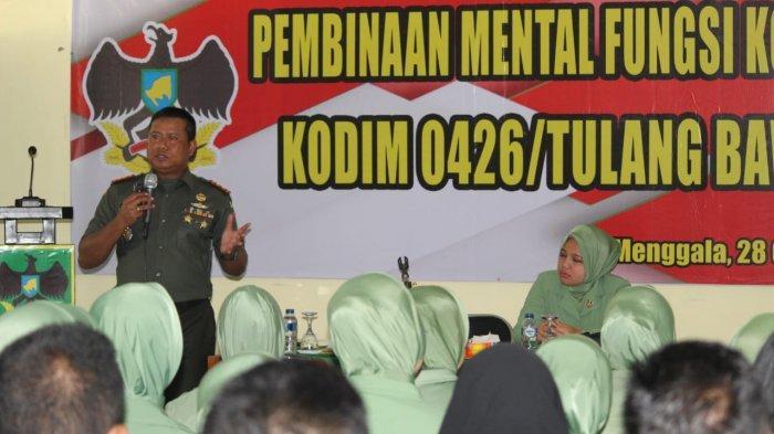 Dandim 0426: Pembinaan Mental Akan Tingkatkan Ketaqwaan Prajurit
