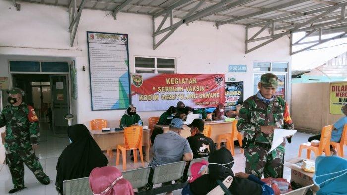 Dandim 0426 Tulangbawang Ingatkan Masyarakat Mau Divaksin