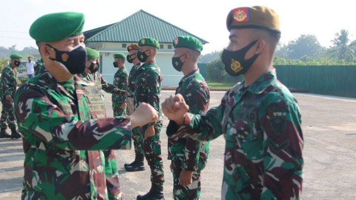 Dandim 0429/Lampung Timur Lepas 12 Bintara Remaja Pindah Tugas Satuan Baru