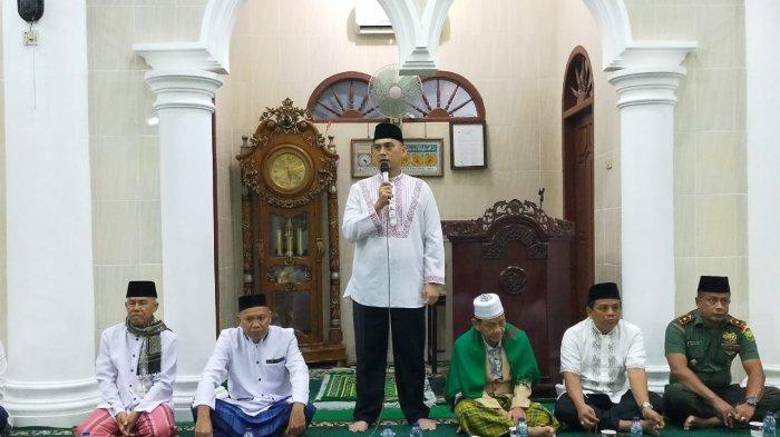 Dandim Gelar Manunggal Subuh di Masjid Al Hidayahtullah