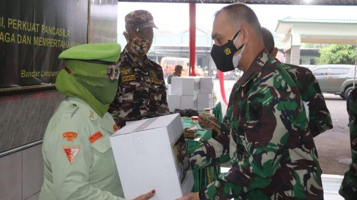 Jelang Hari Raya Idul Fitri, Kolonel Inf Romas Herlandes Gelar Acara Silaturahmi Keluarga Besar TNI