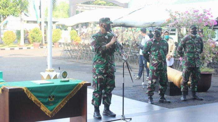 Dandim Romas Herlandes Pimpin Acara Korp Raport Pindah Satuan di Makodim