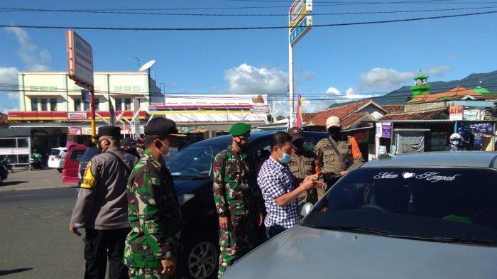 Jelang Libur Lebaran, Kodim 0410/KBL Pantau Pendatang di Pos Penyekatan