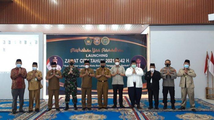 Kolonel Inf Romas Herlandes Hadiri Launching Zakat City Kemenag