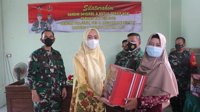 Jalin Silaturahmi TNI, Romas Herlandes Rutin Kunjungi Rumah Anggota Kodim