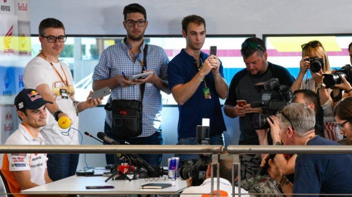 Pasca Didepak Repsol Honda, Dani Pedrosa Menggelar Konpers, Tapi Bikin Kecewa Wartawan