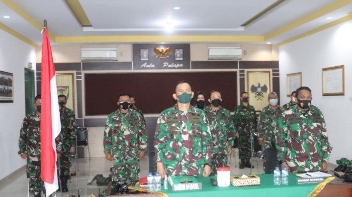 Dandim 0410 Hadiri Acara Penilaian Pelaksanaan Reformasi Birokrasi di Kodam II/Sriwijaya TA 2021