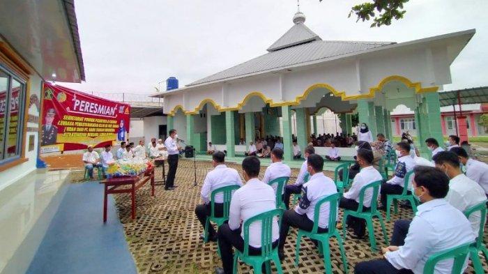 Dapat Hibah Bangunan untuk Ponpes, Kalapas Way Kanan Apresiasi PT BSI Kotabumi