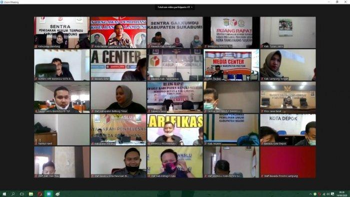 Jajaran Bawaslu Bandar Lampung Diminta Melek Teknologi