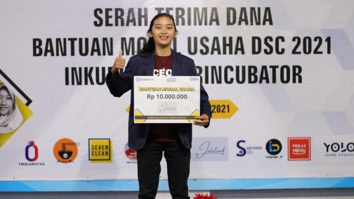 Satu-satunya di Lampung, Startup Mahasiswi IIB Darmajaya ini Lolos Tahap 1 ASMI 2021