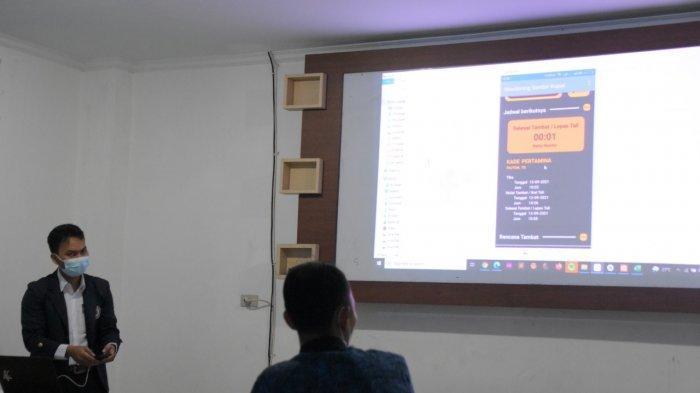 Mahasiswa IIB Darmajaya Buat Sistem Monitoring Hitung Mundur Waktu Sandar Kapal di Pelabuhan Panjang