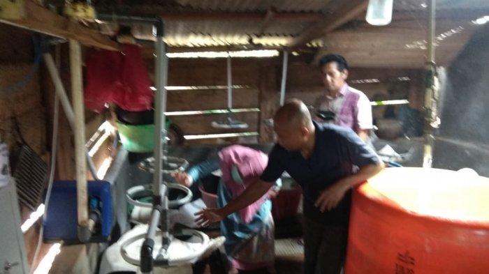 Pengabdian Masyarakat Dosen IIB Darmajaya, Pemilik UMKM Taoge di Langkapura Sangat Terbantu