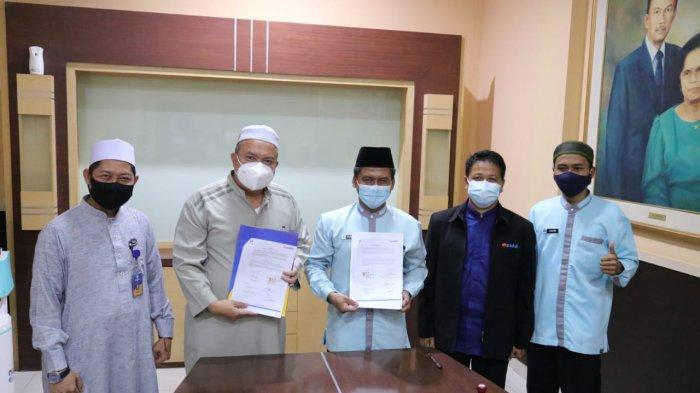 IIB Darmajaya dan DT Peduli Lampung Kerjasama Pengelolaan ZIS Karyawan dan Dosen