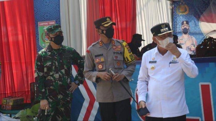 Antisipasi Pemudik, Bupati Lampung Timur Dawam Cek Peralatan Medis