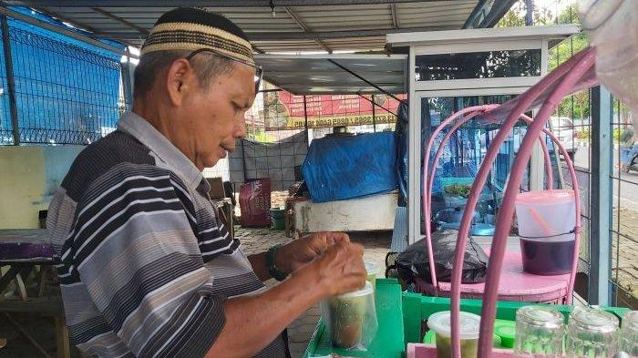 Kuliner Lampung, Dawet Ayu Khas Banjarnegara di Kampus Unila yang Maknyus