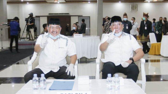 M Nasir-Naldi Rinara Sudah Tiba di Lokasi Debat Pilkada Pesawaran 2020