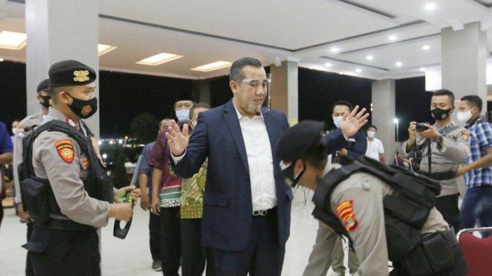Debat Kandidat Pilkada Pesawaran 2020, Dendi Ramadhona Hadir tanpa Marzuki