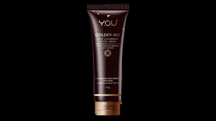 Ilustrasi YOU Golden Age Deep Cleansing Facial Wash.