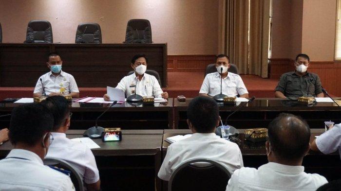 Deklarasi Damai Pilkades Serentak 2021 di Lampung Selatan Digelar Secara Hybrid