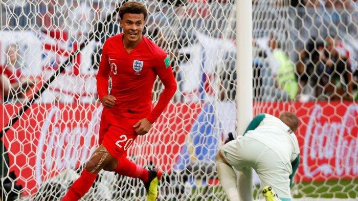 Rekor Dele Alli dan Fakta-fakta Menarik Swedia vs Inggris