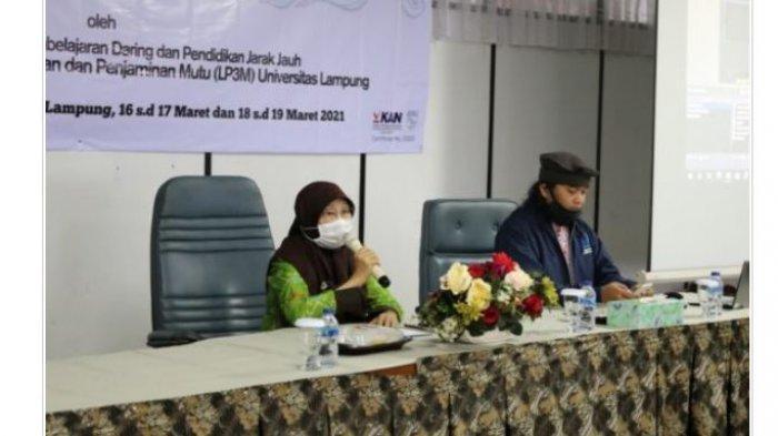 LP3M Unila Gelar Pelatihan Pemanfaatan LMS pada Pembelajaran Daring