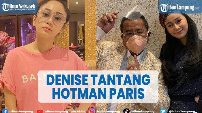 Denise Chariesta Tantang Hotman Paris
