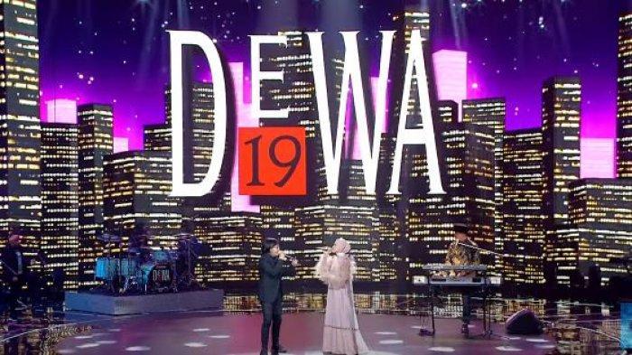 Ari Lasso, Mulan Jameela, dan Dewa 19 tampil dipanggung Indonesian Idol 2021