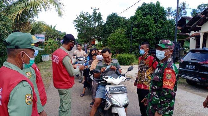 PPKM Darurat, Koramil 410-06/Kedaton Rutin Sidak Prokes Hingga ke Pemukiman Warga
