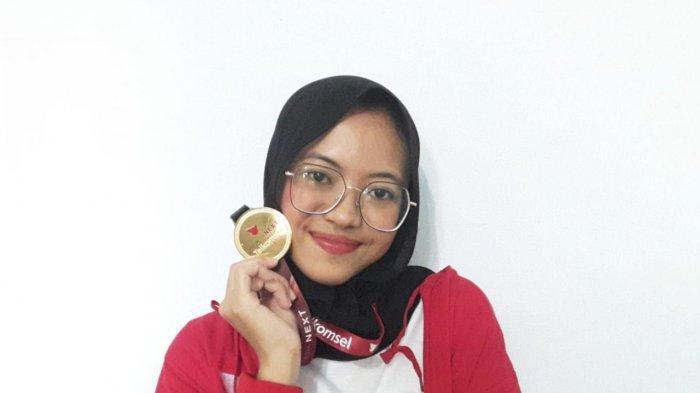 Dhita Krisdarmayanti Raih 3rd Best of the Best Talent di Ajang IndonesiaNEXT Season 5