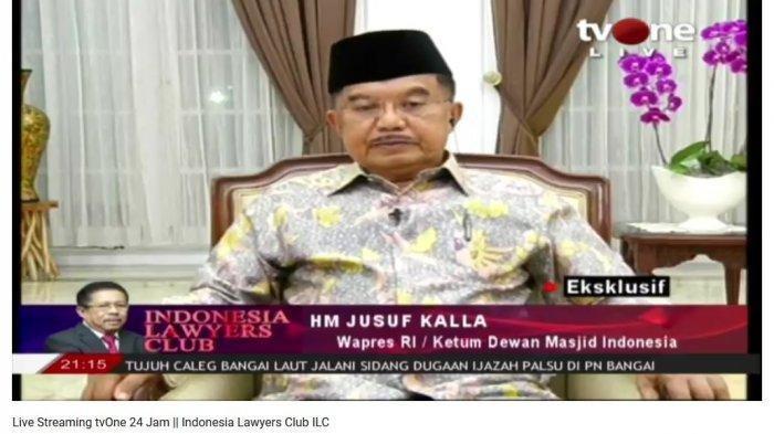Jusuf Kalla Ungkap Alasan Dukung Anies Baswedan Saat Pilgub DKI Lalu, Meski Beda Sikap dengan Jokowi