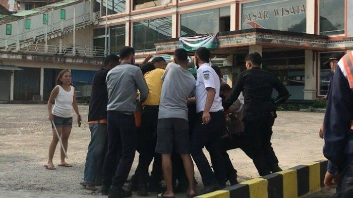 Nekat Naik Kereta Tanpa Tiket di Lampung, Pria Berpisau Asal Bangka Belitung Dibekuk