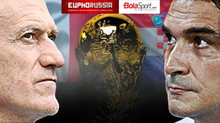 Live Final Piala Dunia 2018 - Prancis vs Kroasia, Zlatko Dalic Ingin Hapus Kenangan Buruk