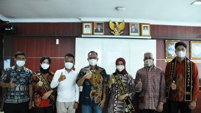Mahasiswi IIB Darmajaya Wakili Lampung dalam Ajang Duta Kopi Indonesia 2021