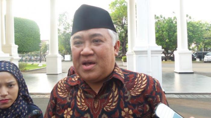 Ketua Umum PP Muhammadiyah Din Syamsuddin.