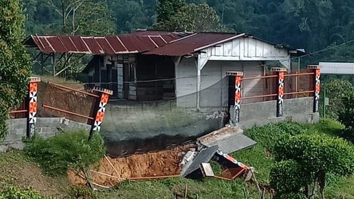 Dinding Kebun Raya Liwa Roboh karena Hujan, Kepala Balitbang Lambar Sebut Bukan Kejadian Pertama