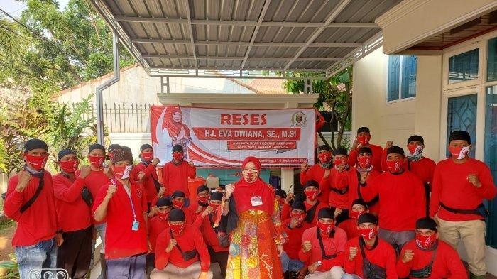 Dipimpin Bunda Eva Dwiana, MTRH Lampung Semprot Disinfektan di 3 Kelurahan di Bandar Lampung