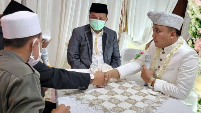 perDirektur Utama PT Tegal Mas Thomas, M Rafsanzani Patria, menikah dengan gadis idamannya, Hadista Piduzia Nur Hasan.