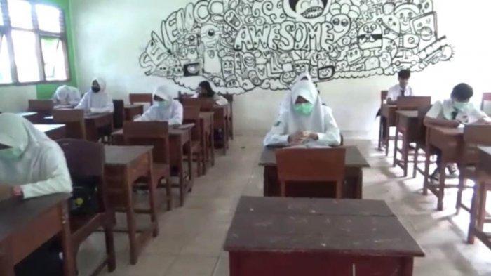 Disdikbud Lampung Utara Tinjau Persiapan Sekolah Menuju KBM Tatap Muka