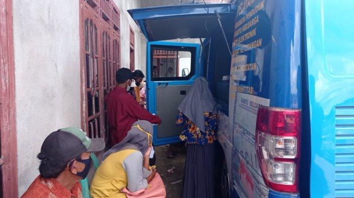 Disdukcapil Mesuji Jemput Bola Pelayanan Kependudukan di Desa Tirtalaga