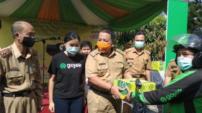 Dishub Lampung dan Polresta Bandar Lampung Apresiasi J3K Gojek Cegah Covid-19