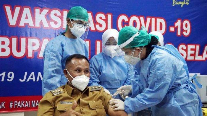 Diskes Lampung Selatan Siapkan Langkah Antisipasi KIPI Pasca Vaksinasi Covid-19