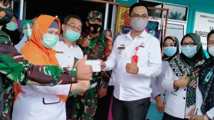 Diskes Lampung Utara Mulai Distribusikan Vaksin Covid-19