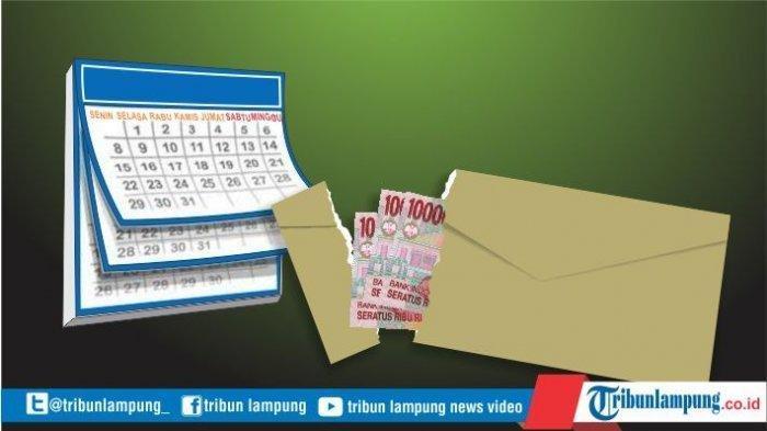 Ilustrasi THR. Disnaker Bandar Lampung Akan Buka Posko Pengaduan THR 2021