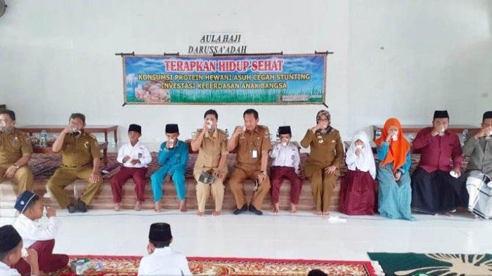Disnakkeswan Lampung Kampanyekan Gizi Produk Peternakan untuk Cegah Stunting