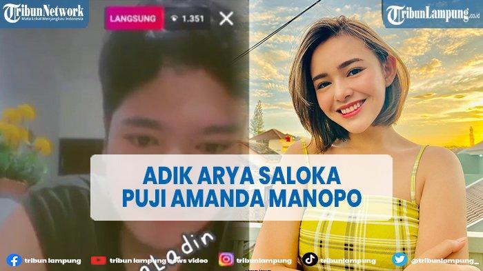 Adik Arya Saloka Puji Amanda Manopo Cantik, Mengaku Ingin Bertemu