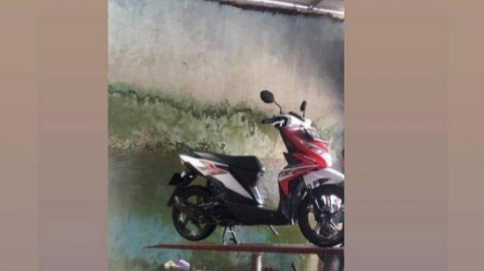 Detik-detik Motor Mahasiswi Hilang di Parkiran Ruko Dekat Kampus Unila